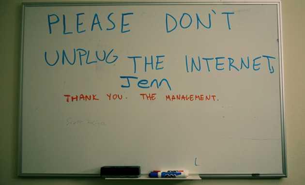 Dont unplug the internet Jem